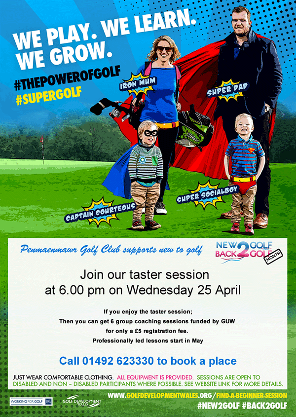 New2Golf, a great family day out - come and try playing golf