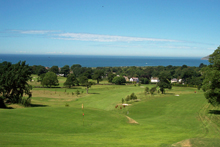Penmaenmawr Golf course view from the 15th tee